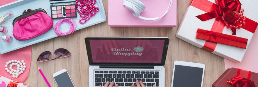 Achat de produits de beauté en ligne